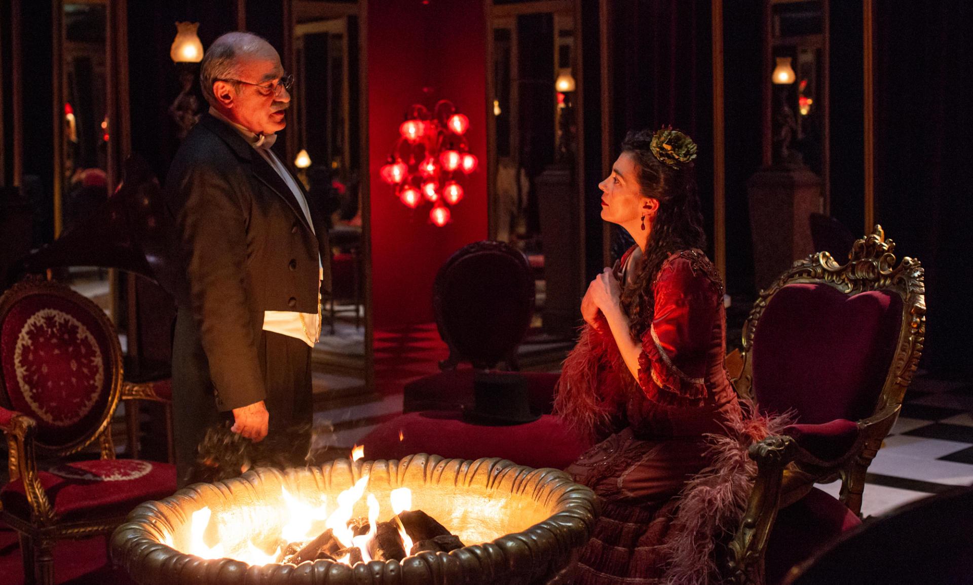 Una escena de 'La Vampira de Barcelona', dirigida per Lluís Danés.