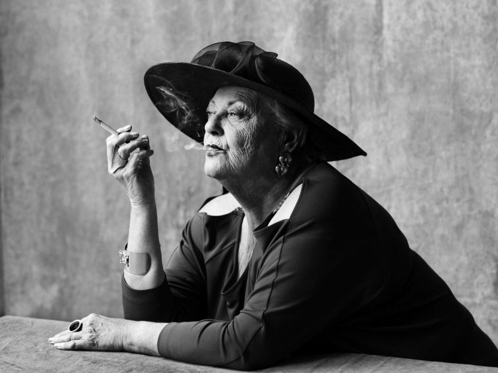Viviane De Muynck fa de Molly Bloom en l'últim espectacle de la Needcompany de Jan Lauwers. Foto: Needcompany