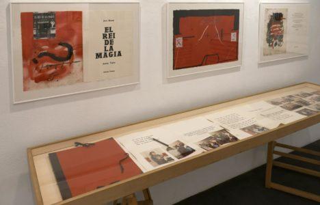Tàpies/Brossa a Eude amb motiu del 45è aniversari de la galeria