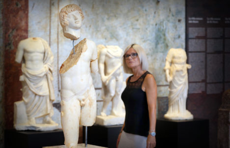 Tancat per obres, disculpin les molèsties. Museus i Equipaments del Camp de Tarragona i Terres de l'Ebre en reformes