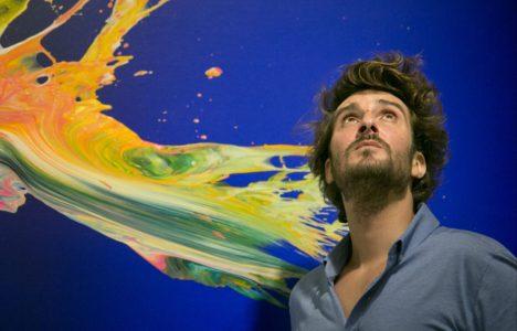 """Yago Hortal: """"La meva pintura parla sobre ella mateixa"""""""