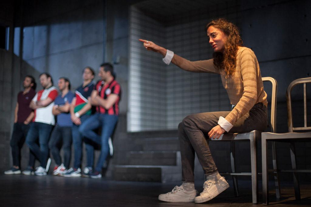 'Jauría', de Jordi Casanovas, és una obra de Teatro Kamikaze de Madrid. Foto: Vanessa Rábade