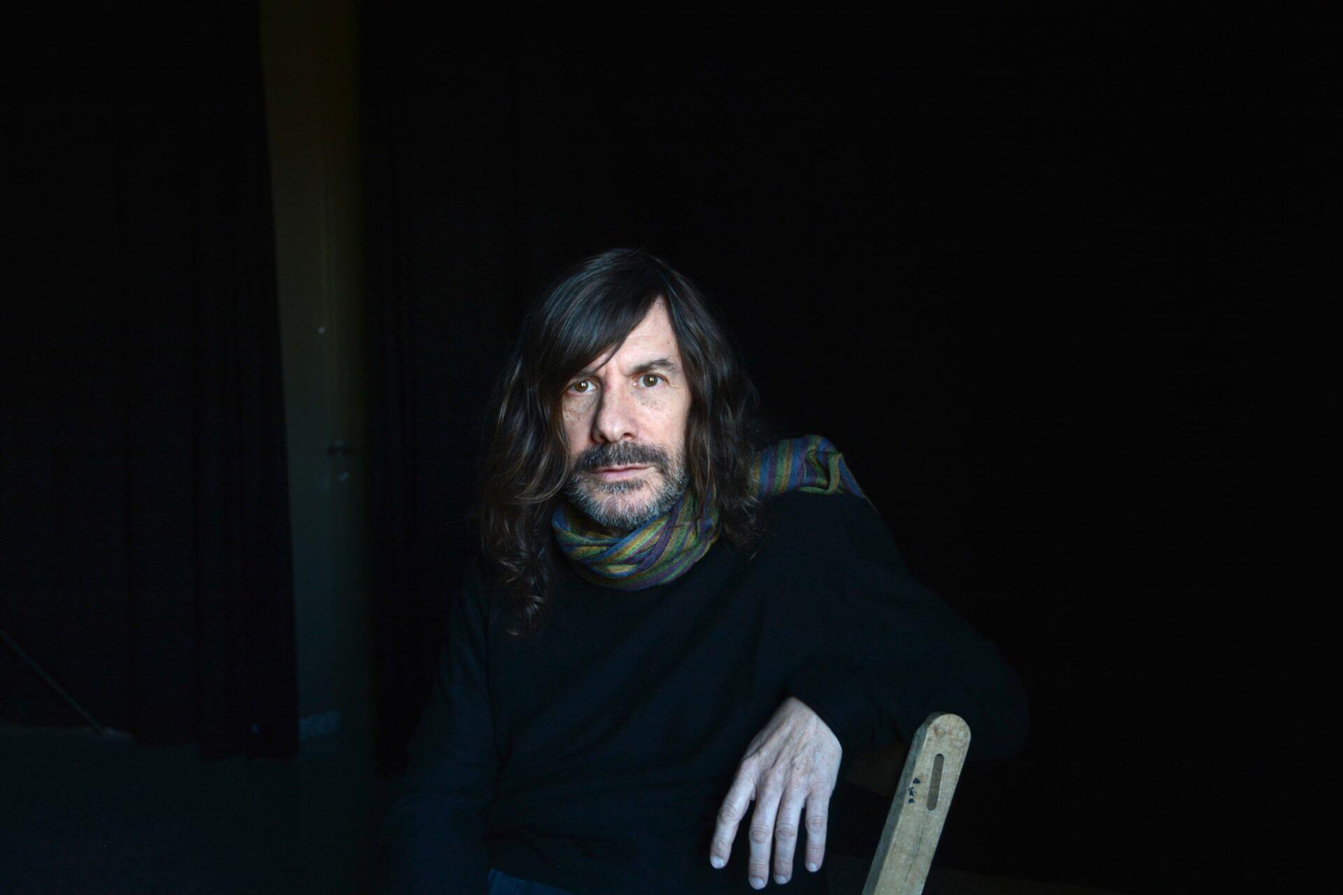 El poeta Víctor Sunyol. Foto: Miquel Sala Claveras