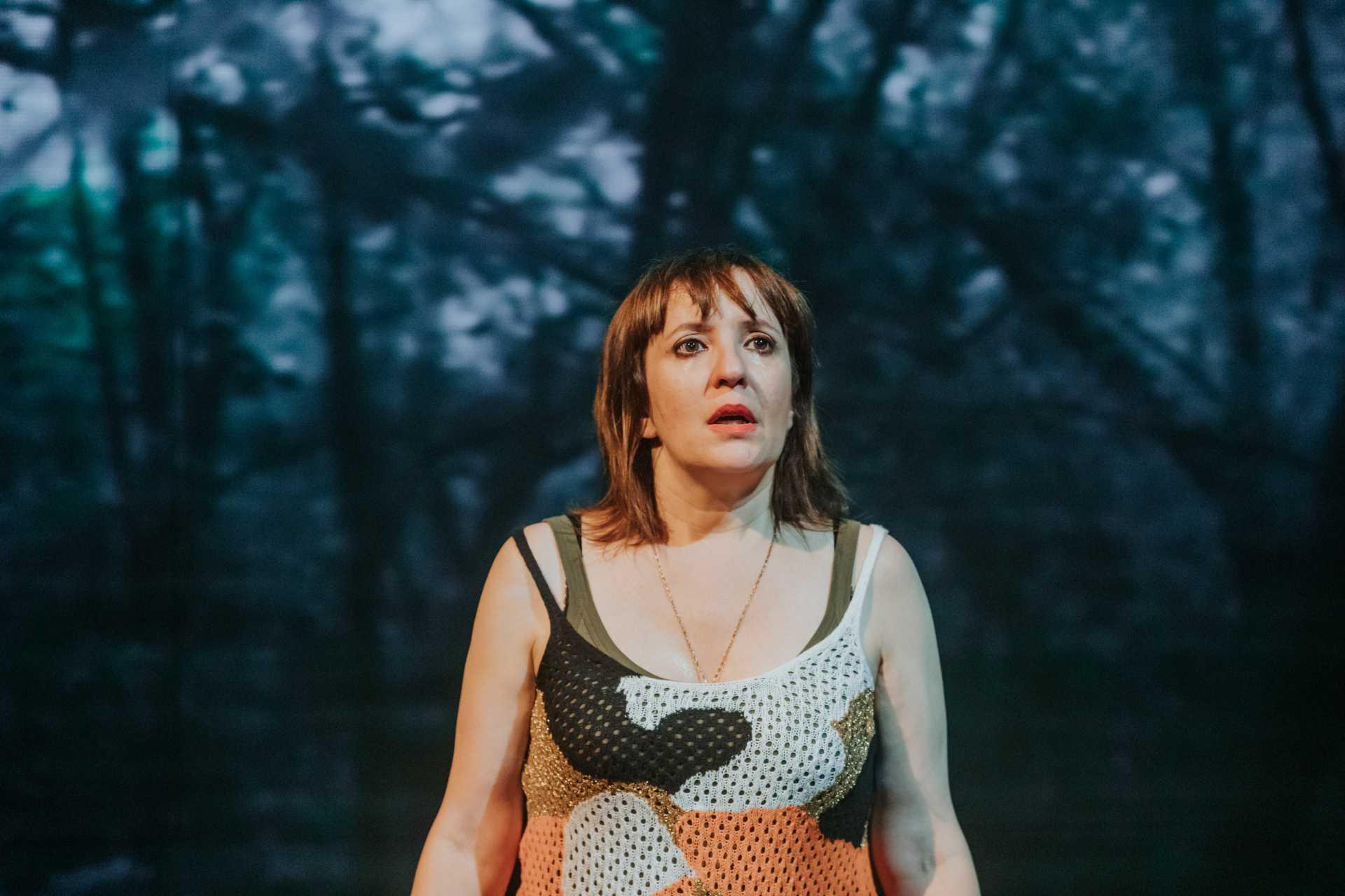 Àurea Márquez a 'La dona del tercer segona', dirigida per Ivan Benet. Foto: Sílvia Poch