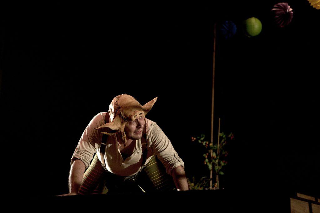 La Calòrica va estrenar 'La nau dels bojos' a La Seca el 2013. Foto: La Calòrica