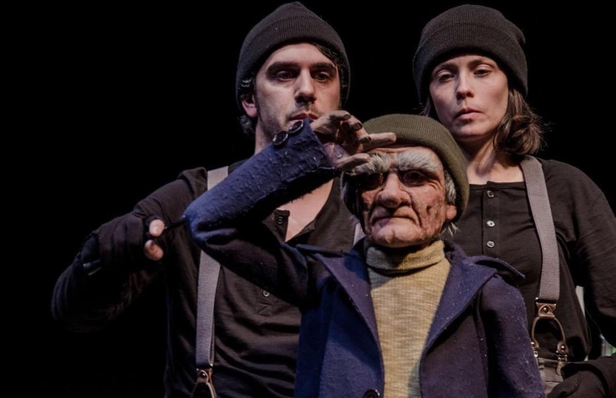 Una imatge de l'obra 'Loïc', d'UN teatre