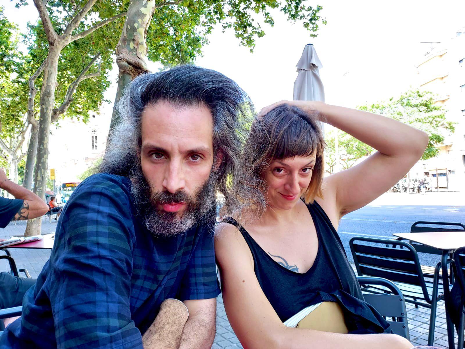 Pablo Gisbert i Tanya Beyeler, integrants d'El Conde de Torrefiel.