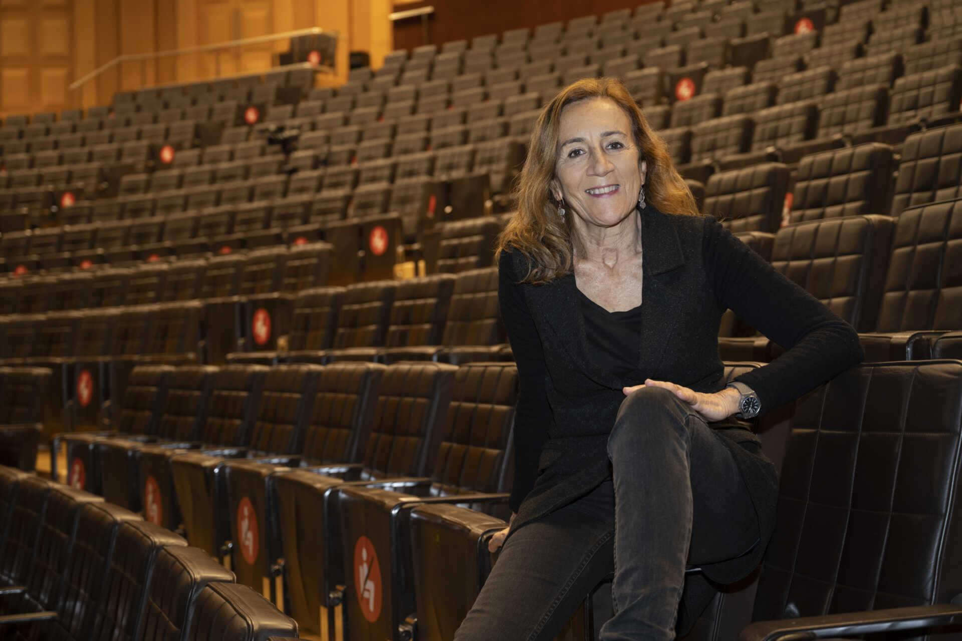 La directora del TNC Carme Portaceli. Foto: May Zircus/TNC