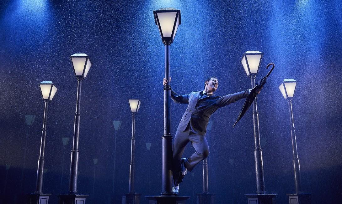 Ivan Labanda a 'Cantando bajo la lluvia'. Foto: Nostromo Live